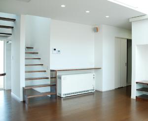 光の家の場合 階段